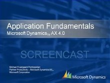 Application Fundamentals in Dynamics AX