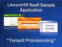 LitwareHR SaaS Sample Application - Tenant Provisioning