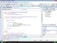 Script intellisense and debugging in Visual Studio 2008