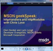 geekSpeak recording - httpHandlers and httpModules with Chris Love