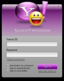 Yahoo! Messenger Application for Vista