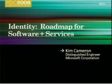 Identity Roadmap for Software + Services