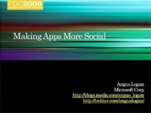 Live Services: Making your Application More Social