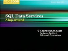 A Lap around SQL Services