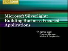 Microsoft Silverlight Futures: Building Business Focused Applications