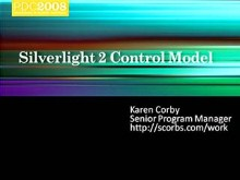 Microsoft Silverlight 2: Control Model