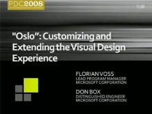 """Oslo"": Customizing and Extending the Visual Design Experience"