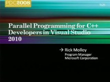 Parallel Programming for C++ Developers in the Next Version of Microsoft Visual Studio