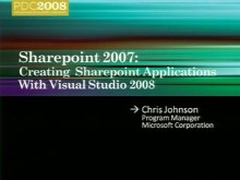 SharePoint 2007: Creating SharePoint Applications with Visual Studio 2008