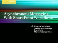 SharePoint 2007: Advanced Asynchronous Workflow Messaging