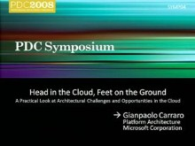 Services Symposium: Expanding Applications to the Cloud