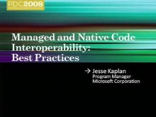 Managed and Native Code Interoperability: Best Practices