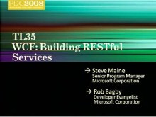 WCF: Developing RESTful Services