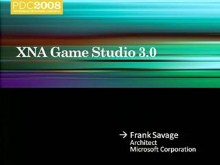 Microsoft XNA Game Studio: An Overview
