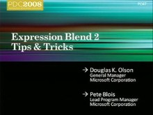 Microsoft Expression Blend: Tips & Tricks