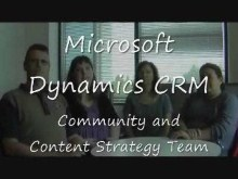 Interview with Microsoft Dynamics CRM Community and Content Strategy Team