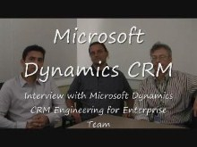 Interview with Microsoft Dynamics CRM Engineering for Enterprise team