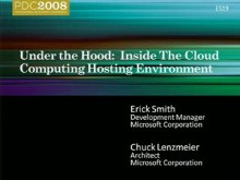 Under the Hood: Inside the Windows Azure Hosting Environment