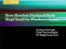 Showcase: How HP Built their Magcloud Service on Windows Azure