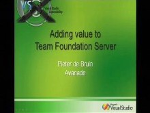Adding Value to Team Foundation Server