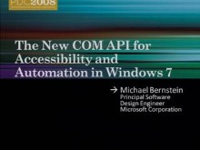 The New COM API for Accessibility and Automation in Windows 7