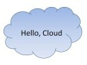 Windows Azure: Hello, Cloud!