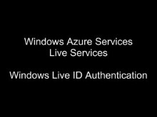 Windows Live ID Web Authentication
