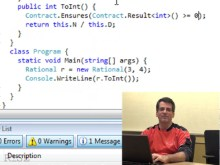 Mike Barnett - Getting started with Code Contracts in Visual Studio 2008