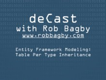 deCast - Entity Framework Modeling: Implementing Table Per Type