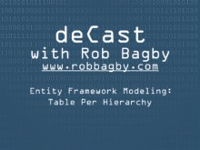 deCast - Entity Framework Modeling: Implementing Table Per Hierarchy
