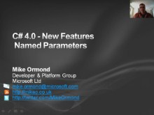 C# 4.0 New Features - Named Parameters