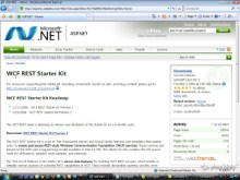 endpoint.tv Screencast - Getting started with the WCF REST Starter Kit Preview 2