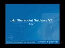 p&p SharePoint Development Guidance v2 - What's in Drop 7?
