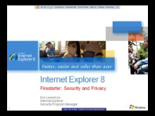Trustworthy Browsing in Internet Explorer 8