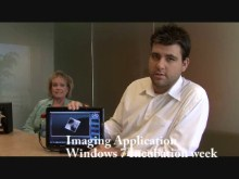 Windows 7 touch application for Imaging