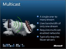 Multicast Plug-in for Silverlight downloadable on Codeplex