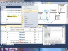 Parallel Tasks – new Visual Studio 2010 debugger window
