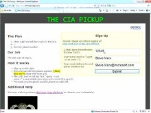 The CIA Pickup - a Windows Azure Sample