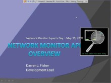 Microsoft Network Monitor Experts Day: Part 2 - API Overview