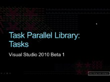 Task Parallel Library: Tasks