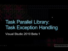 Task Parallel Library: Exception Handling
