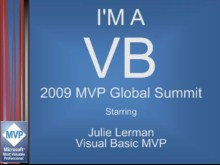 """I'm a VB"" Interview: Julie Lerman, Visual Basic MVP"