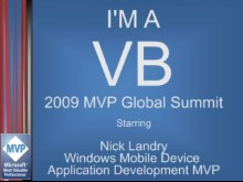 """I'm a VB"" Interview: Nick Landry, Windows Mobile MVP"