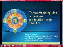 Threat Modeling LOB Applications with TAM 3.0