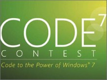 Windows 7 Developer Contest - win a trip to PDC09 and cash
