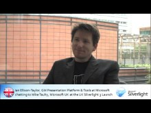Silverlight 3 UK Launch: Chat with Ian Ellison-Taylor