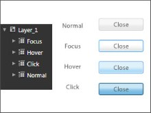 Import artwork from Illustrator and easily make a scalable button in Silverlight