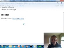 endpoint.tv Screencast - Spike on Workflow Managed Email Verification