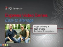 SQL Server Express: Easy to Manage