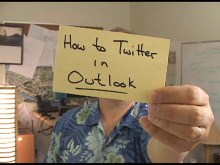Office Casual - How to Twitter in Outlook with TwInbox
